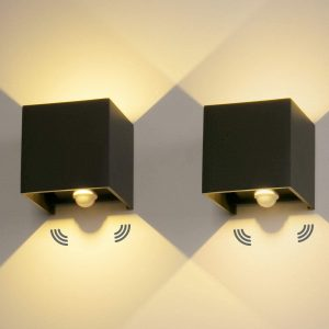 luz con sensor de movimiento integrado