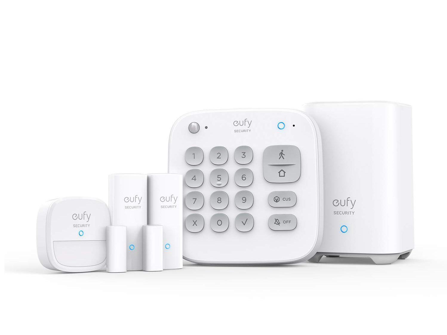 Eufy Security 5 Piezas Smart Home Set alarma con sensores de movimiento
