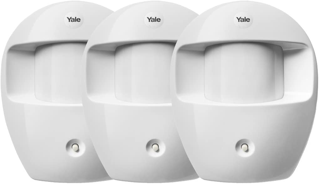 Yale YEF3PIR Pir Detector De Movimiento (Paquete De 3)