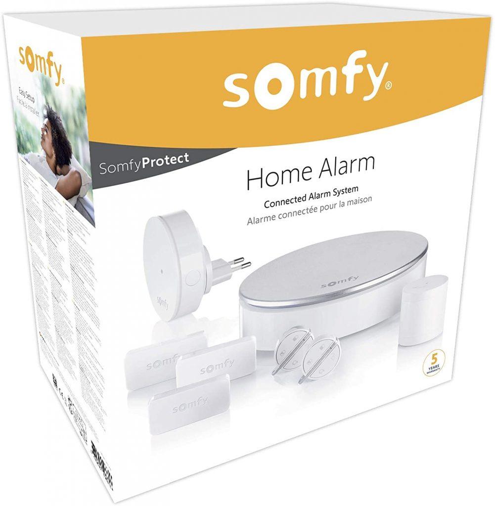 Somfy home alarm, alarma sin cuotas
